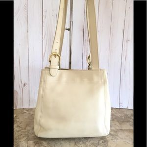 Vtg Coach Shoulder Bag/tote